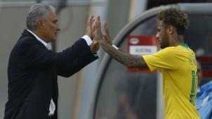 Tite Neymar Brasil Seleção 10 06 2018