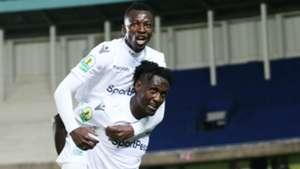 Benard Ondiek of Gor Mahia FC v Nyasa Big Bullets