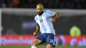 Javier Mascherano Argentina Venezuela 05092017