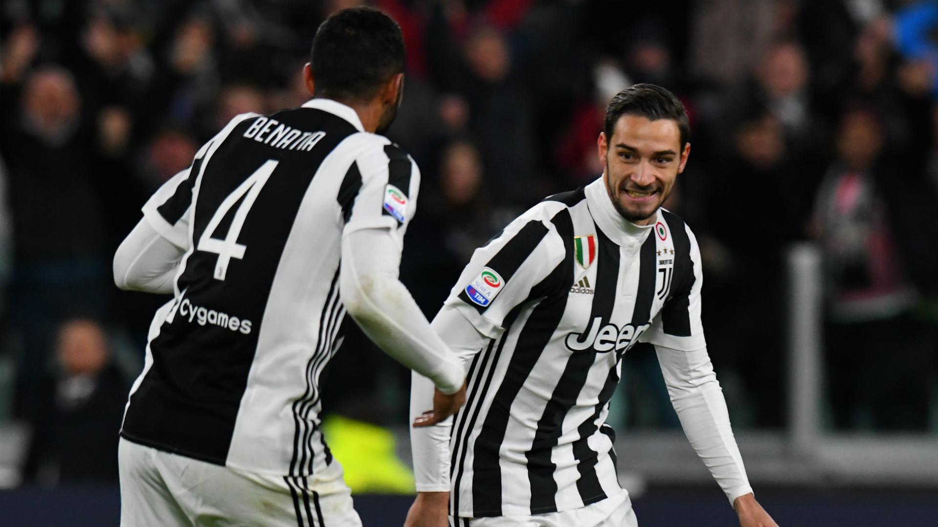 Juventus-Crotone, De Sciglio e il suo primo goal: