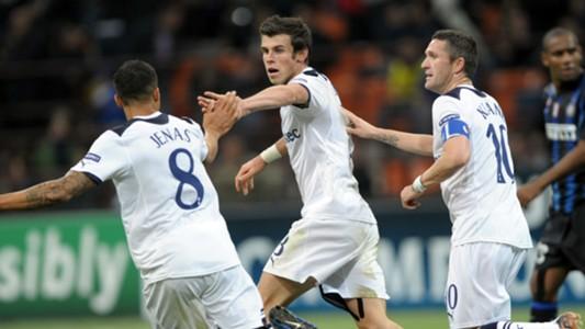 Gareth Bale Tottenham Inter 2010