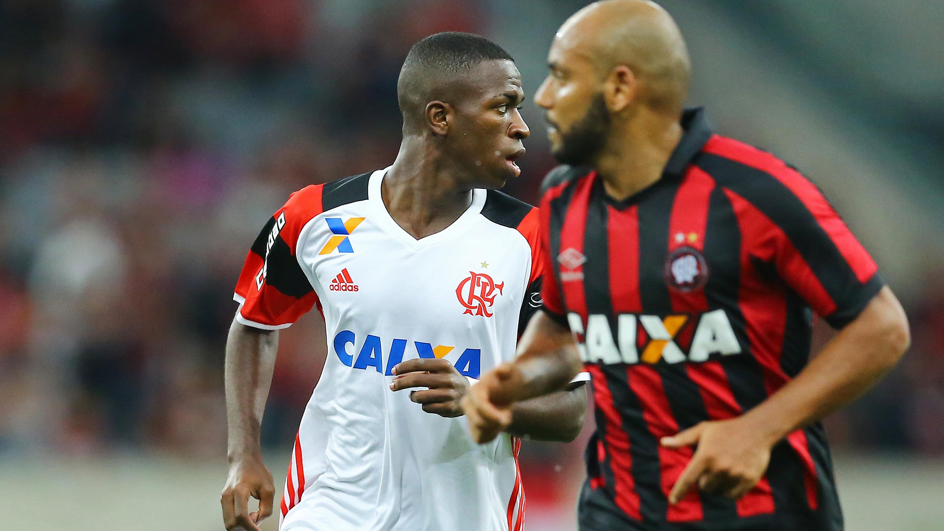 Vinicius Junior Atletico-PR Flamengo Brasileirao Serie A 28052017