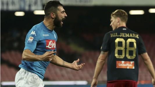 Raul Albiol Napoli Genoa Serie A