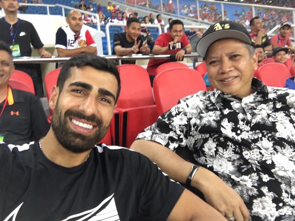 Mohammed Ghaddar, Tan Sri Annuar Musa, Kelantan, 13/05/2017