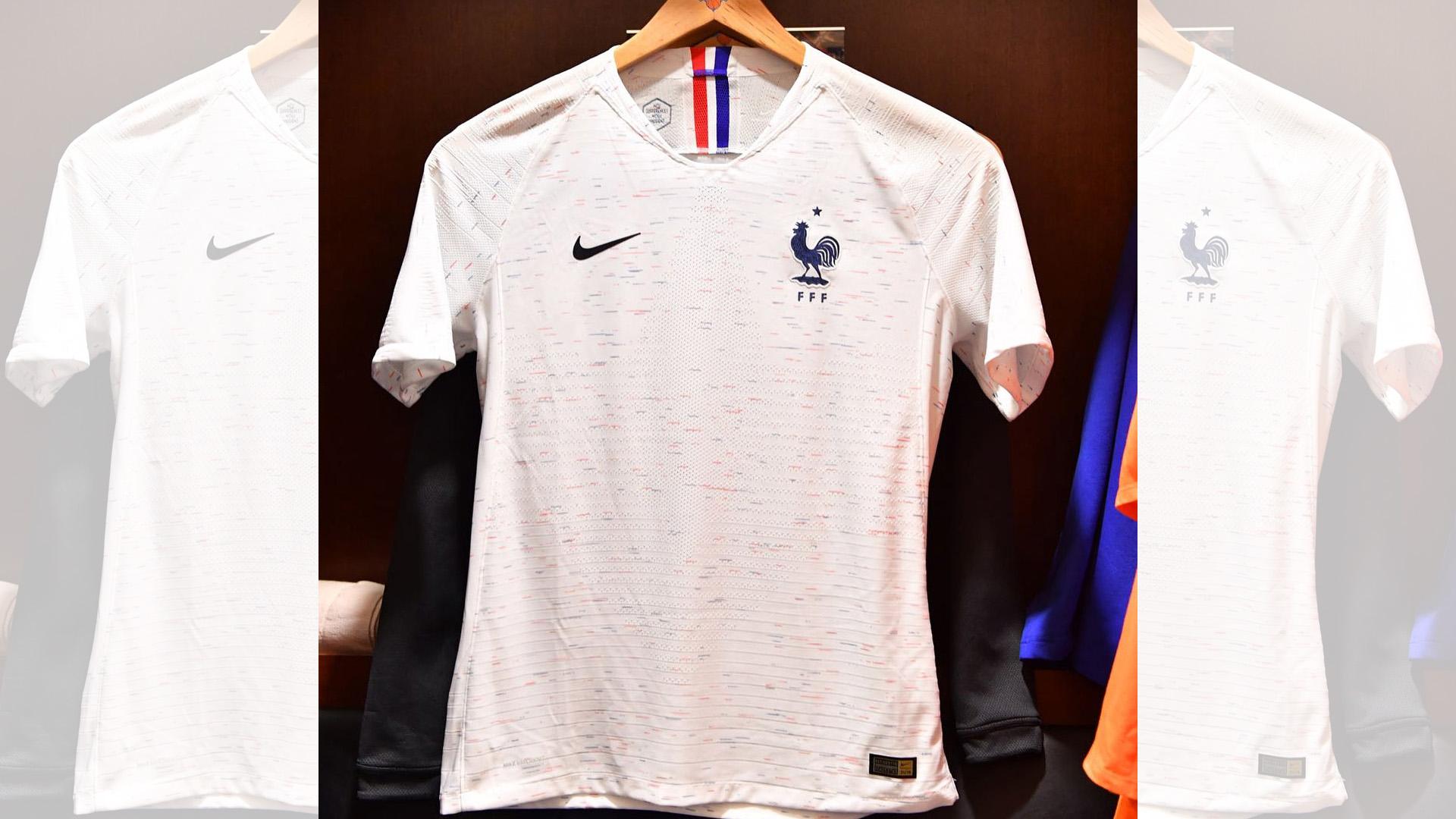 Francia Camiseta Alternativa 2018 France Away Kit