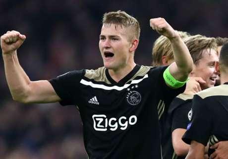 Juve weigh up potential De Ligt alternatives