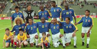 Colombia azul Francia 98