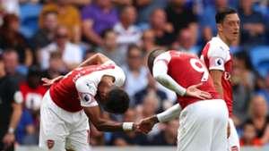 Pierre-Emerick Aubameyang Alexandre Lacazette Arsenal 02092018
