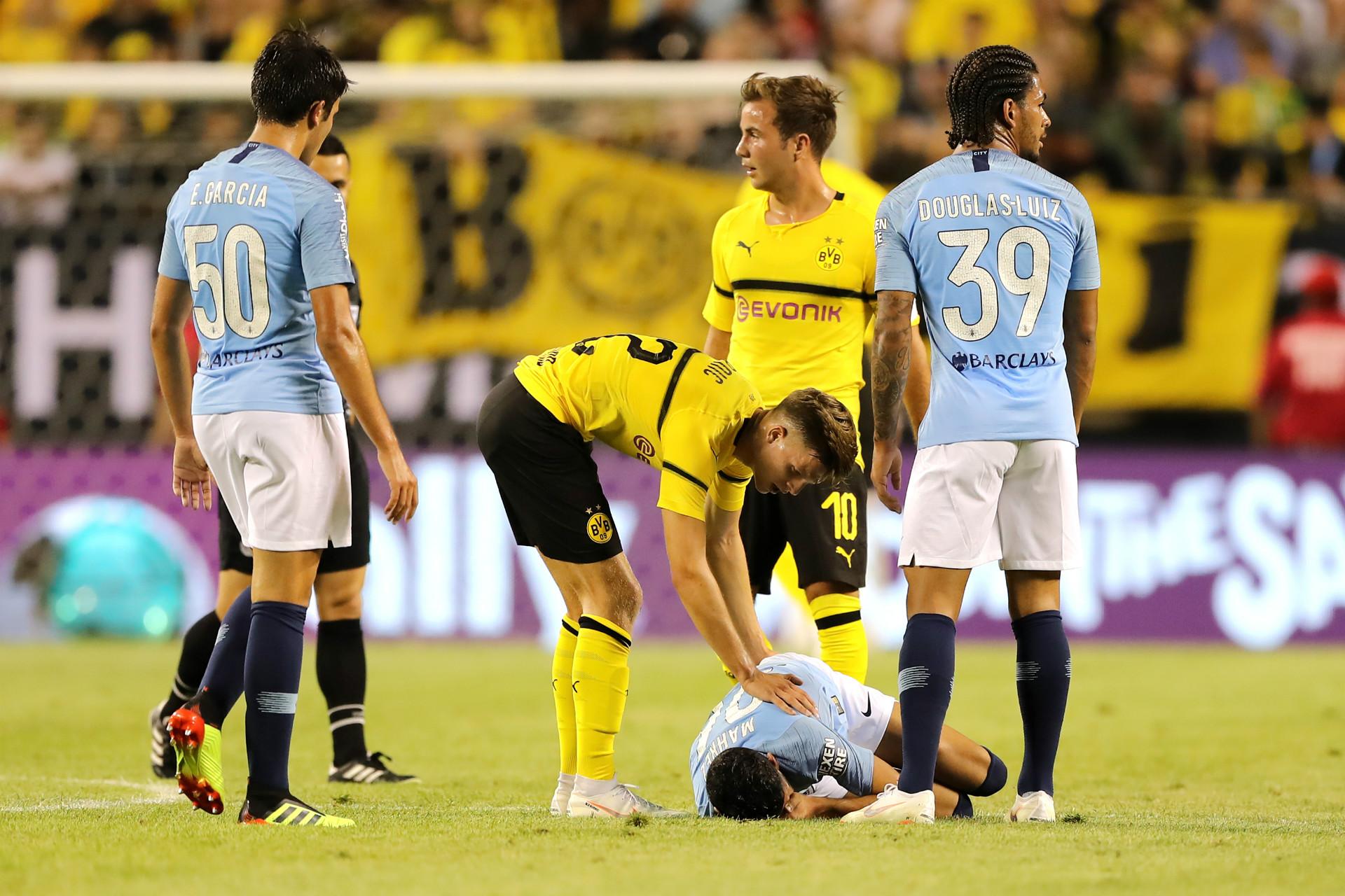 Manchester City Borussia Dortmund International Champions Cup 2018