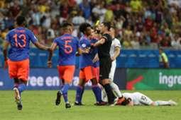 Cuadrado Messi Argentina Colombia Copa América 2019