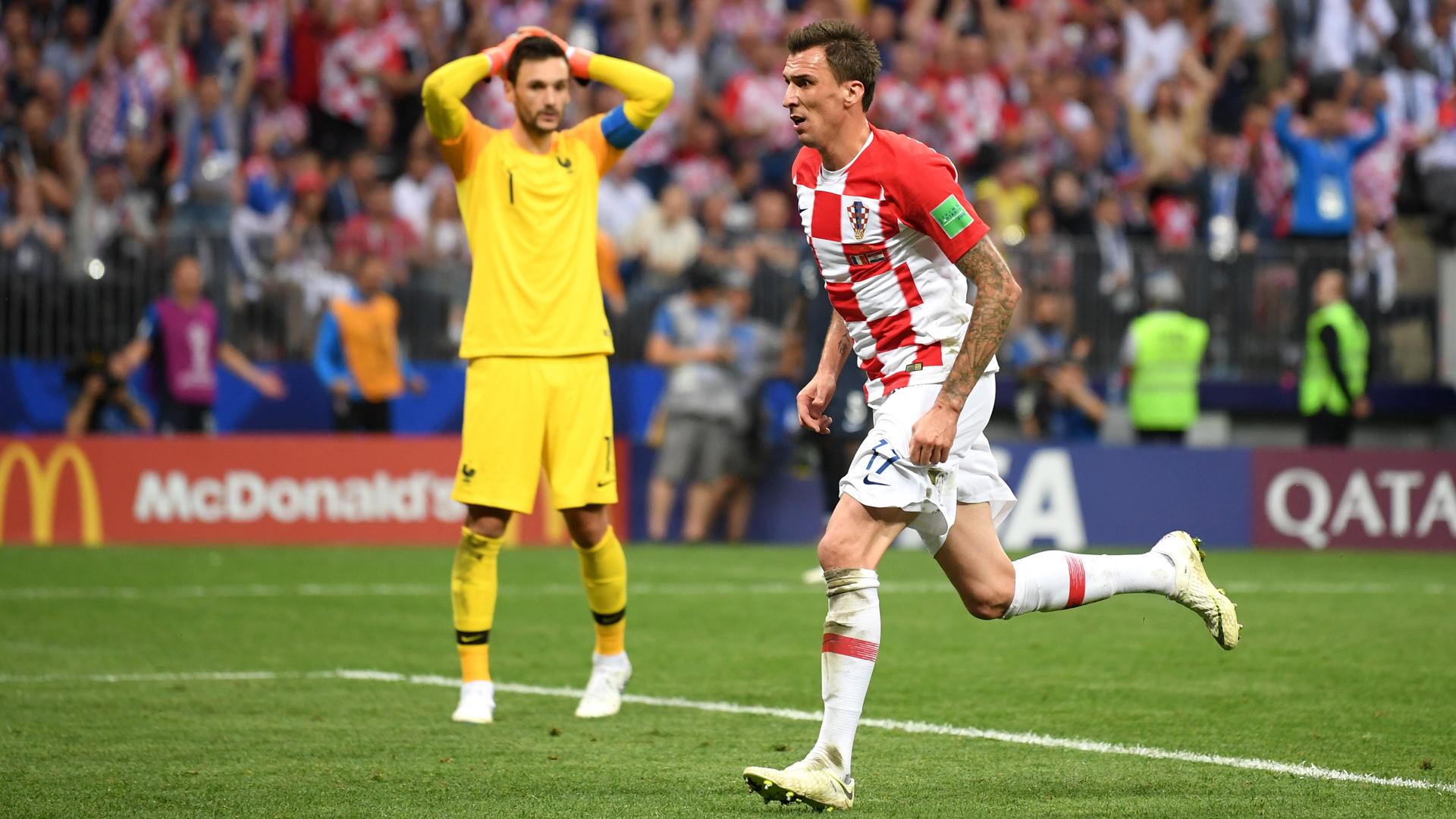 Frankreich Kroatien Mandzukic 15072018