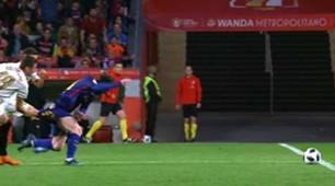 Escudero Messi Sevilla Barcelona