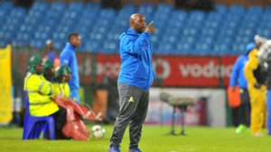 Pitso Mosimane of Mamelodi Sundowns v SuperSport United
