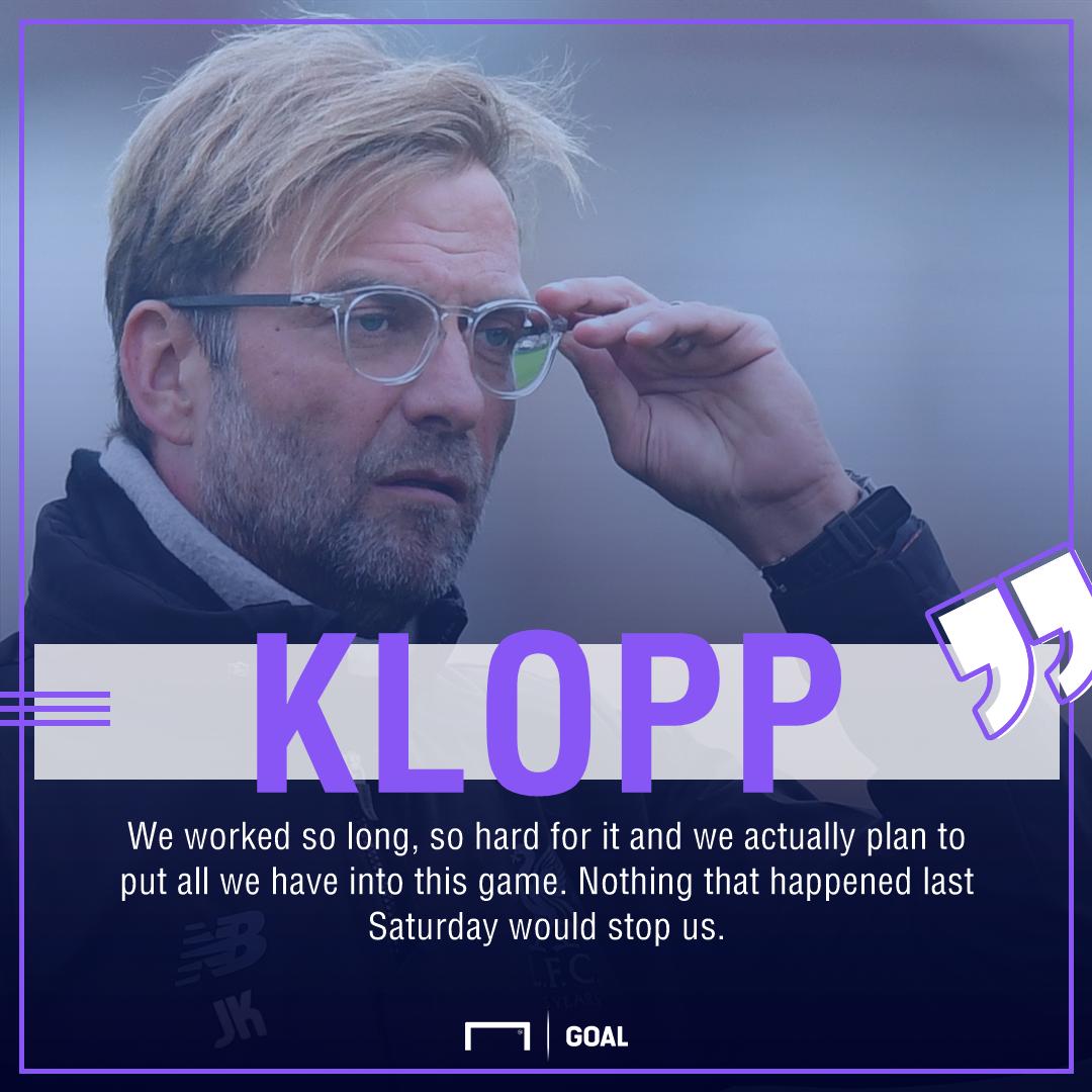 GFX Jurgen Klopp quote Liverpool