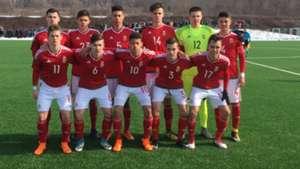 Magyar U 16 válogatott
