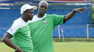 Stanley Okumbi for Harambee Stars.
