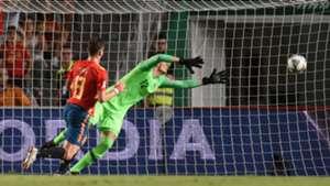 Saul Niguez España Croacia Spain Croatia UEFA Nations League 11092018