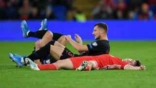 Daniel James Wales vs Croatia Euro 2020 qualifier
