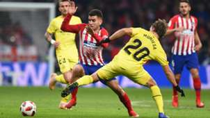 ANGEL CORREA ATLETICO MADRID MARC MUNIESA GIRONA COPA DEL REY 16012019