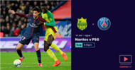 Nantes PSG graphic