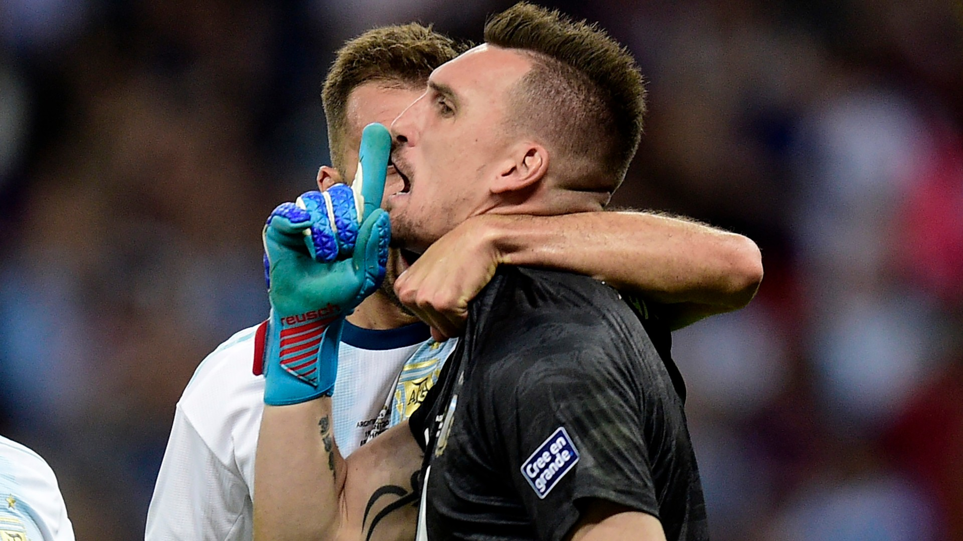 Armani Argentina Paraguay Fecha 2 Grupo B Copa America 2019