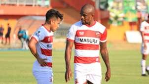 Andik Vermansyah & Greg Nwokolo - Madura United