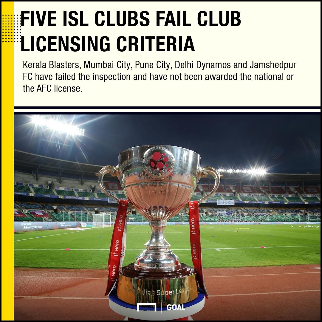ISL club licensing
