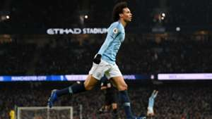 Leroy Sane Manchester City - Liverpool Premier League 01032019