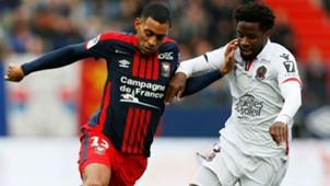 Ronny Rodelin Adrien Tameze Caen Nice Ligue 1 19112017