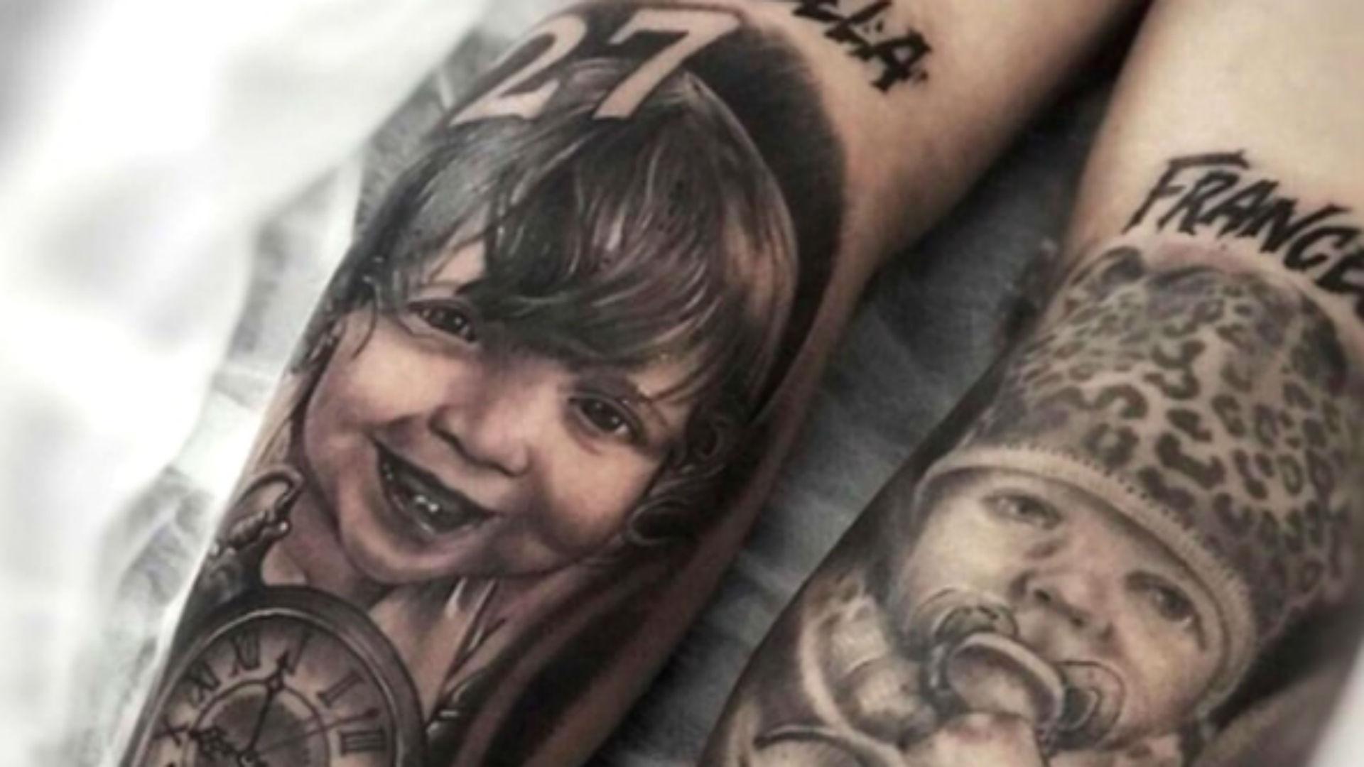 Icardi tatuaggio
