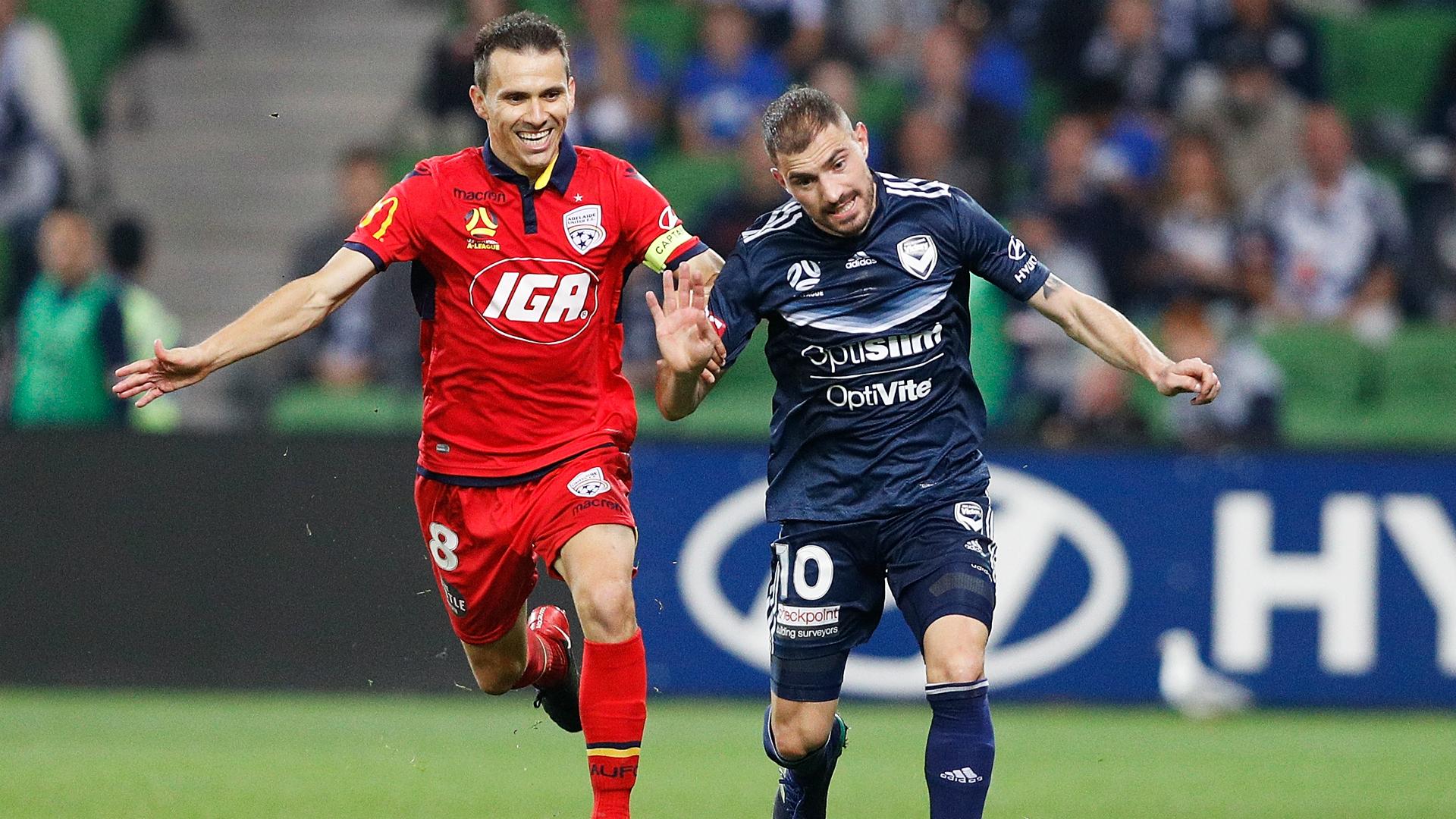 Adelaide v Melbourne Victory