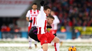 Dominique Heintz Yoric Ravet 1. FC Koln SC Freiburg Bundesliga 10122017