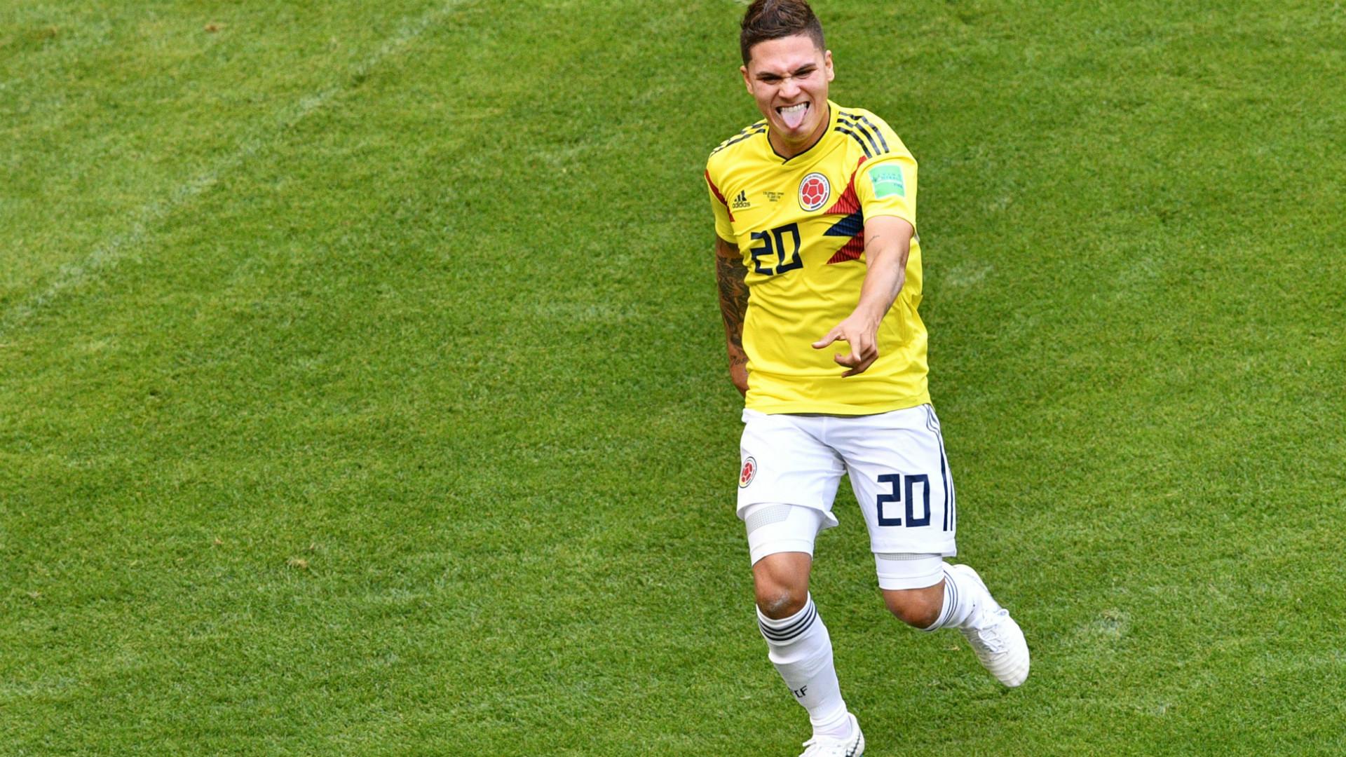 JuanFer Quintero Japon Colombia WC Russia 19062018