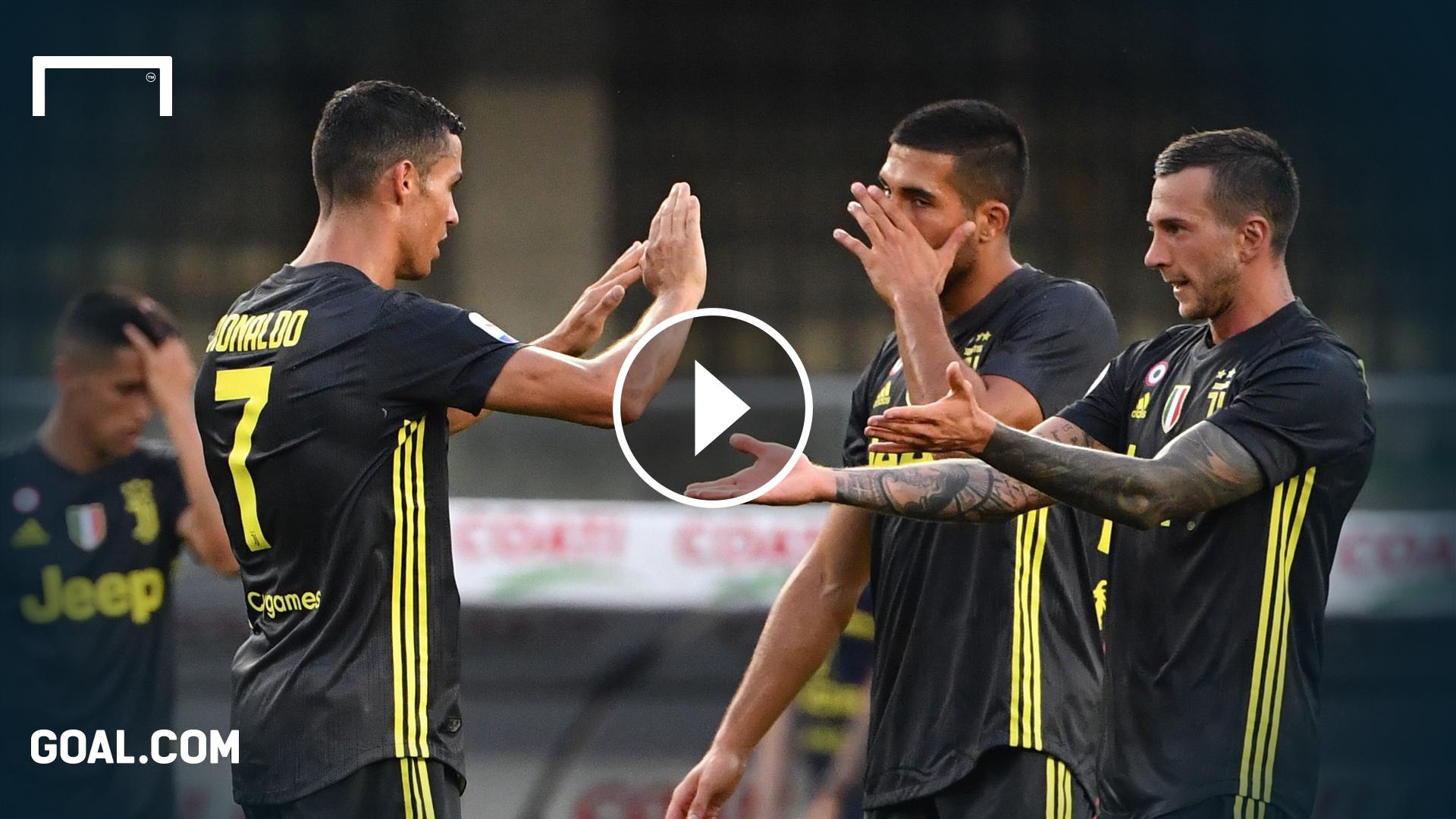 Playbutton Juventus Ronaldo Bernardeschi