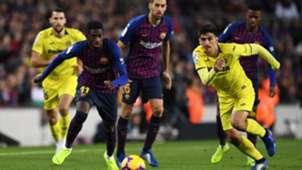 Ousmane Dembele Gerard Moreno Barcelona Villarreal LaLiga 02122018
