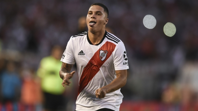 Image result for river vs racing cronica quintero