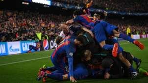 Barcelona v Paris Saint-Germain Champions League 09102017