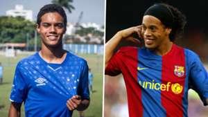 Joao Mendes Cruzeiro Ronaldinho Barcelona