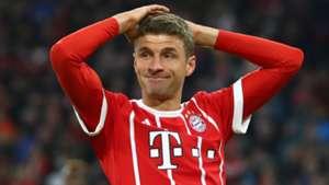 Thomas Muller Bayern 2017