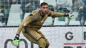 Gianluigi Donnarumma Milan Serie A 2016-17