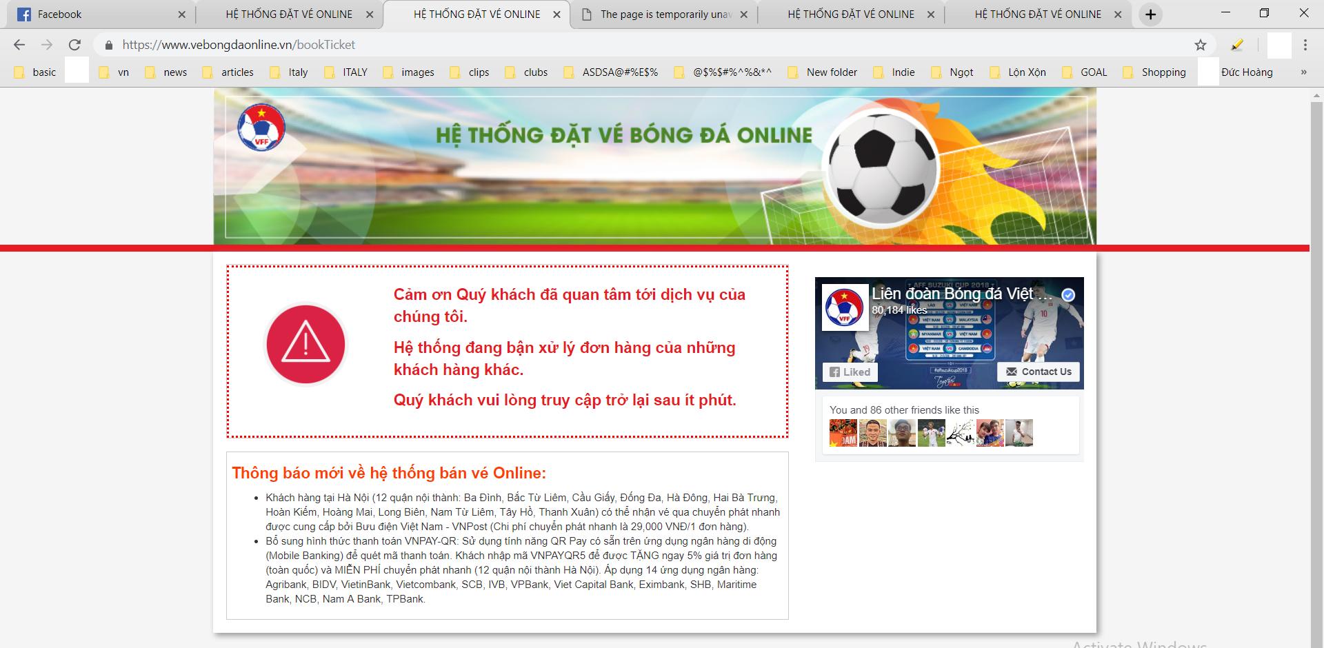 Vé online ĐT Việt Nam
