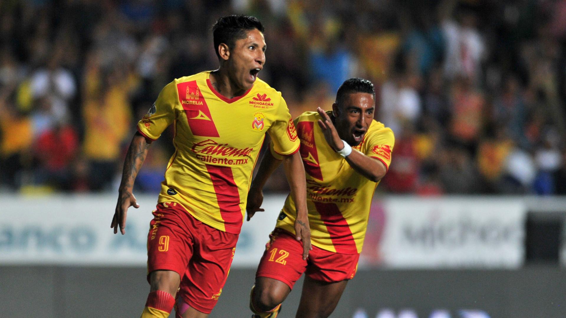 Raúl Ruidíaz Morelia Apertura 2017