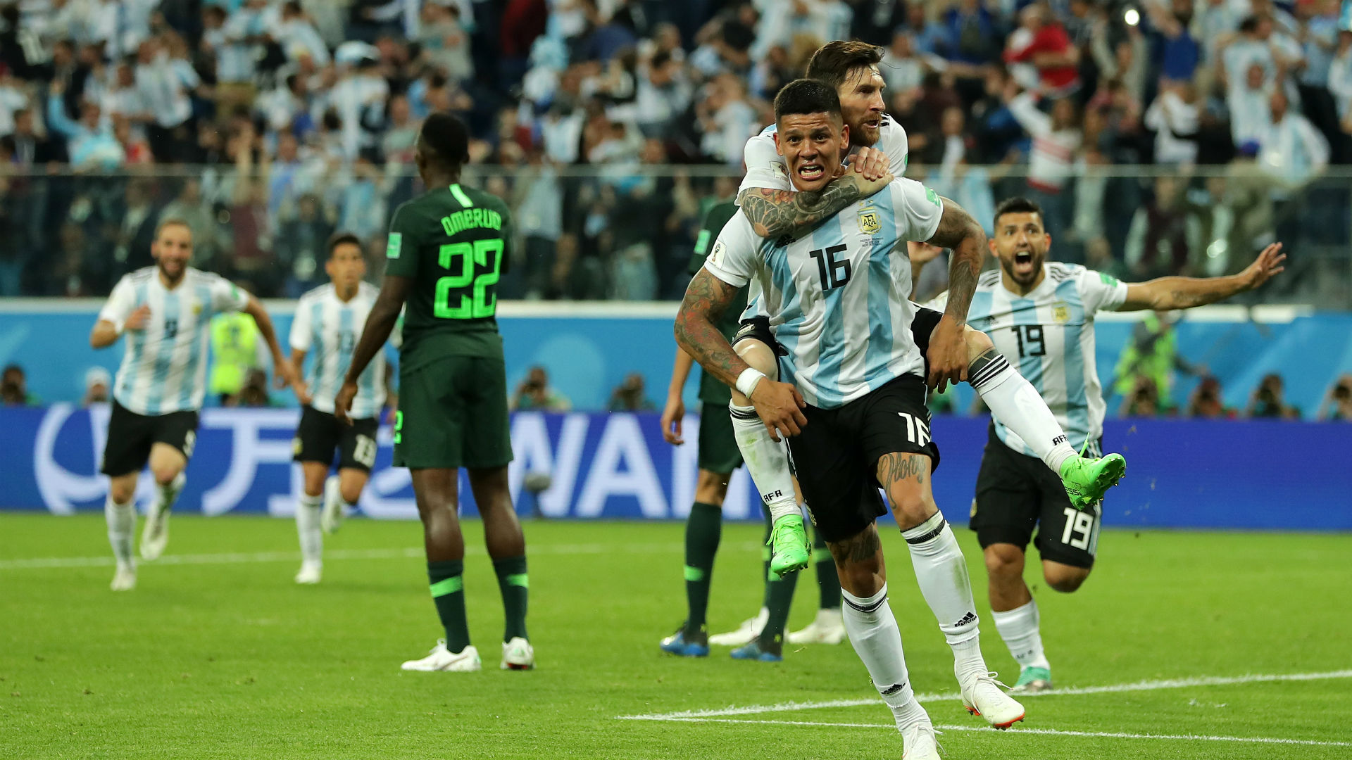 Image result for argentina vs nigeria