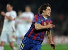 Bojan Krkic Barcelona Champions League