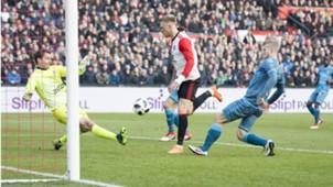 Nicolai Jörgensen, Feyenoord - Heracles, Eredivisie 02182018