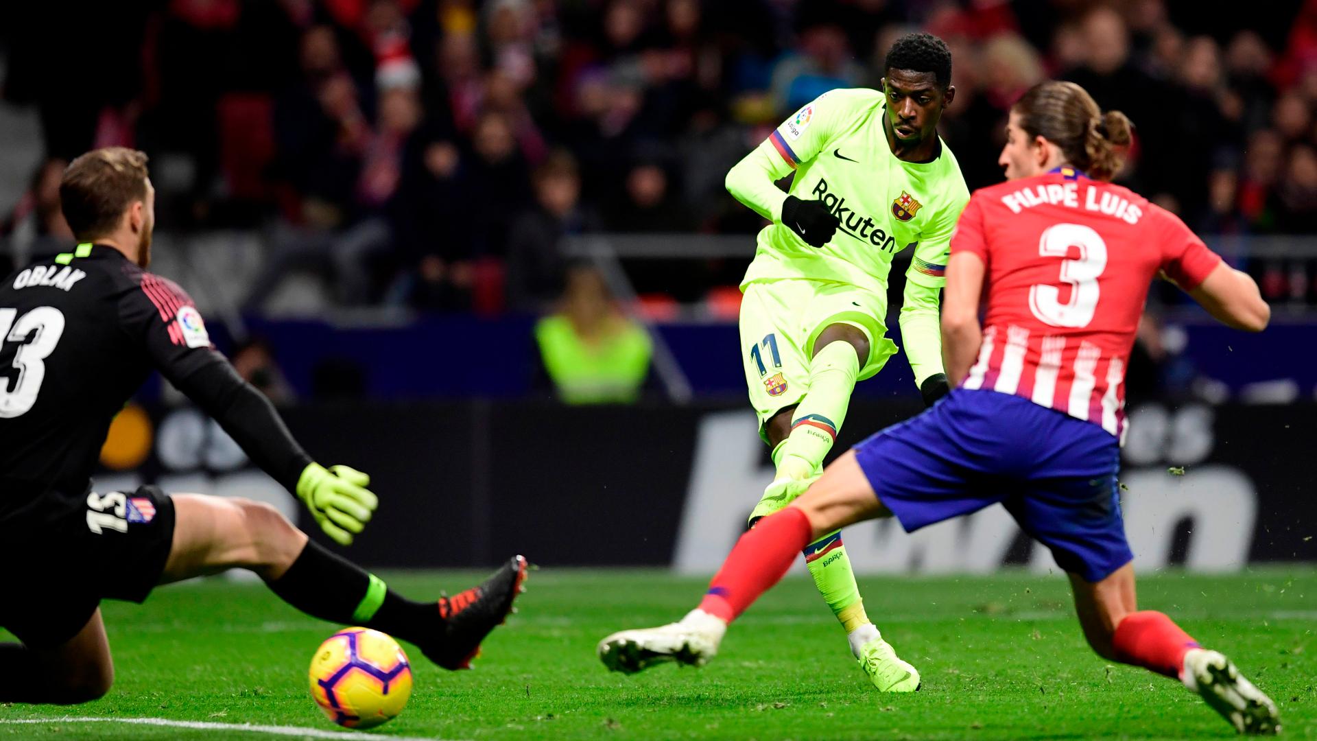 Ousmane Dembele Barcelona Atletico