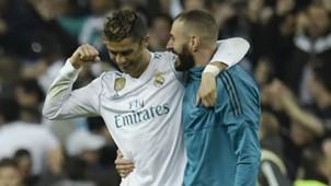 Cristiano Ronaldo Benzema Real Madrid Bayern Champions League 01 05 2018