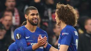 Ruben Loftus Cheek David Luiz Chelsea Eintract Frankfurt
