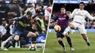 Boca River Barcelona Real Madrid