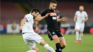Leonardo Pavoletti Napoli Fiorentina Coppa Italia